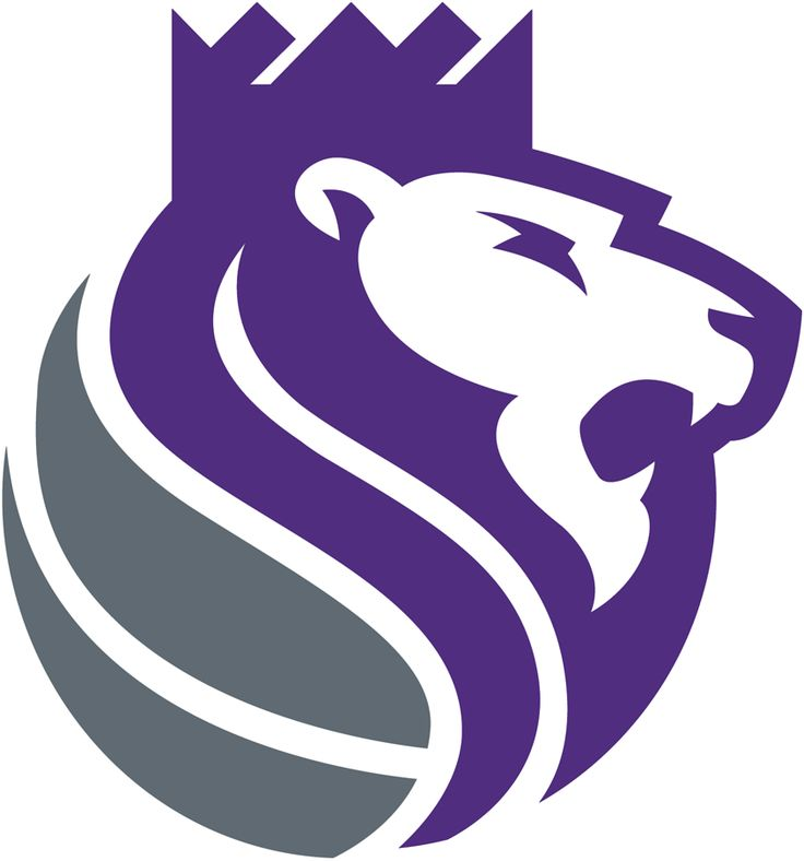 Sacramento Kings Alternate Logo (2017) - A purple and ...