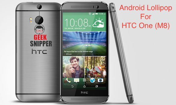 Just received the update about HTC One (M8) to receive Android Lollipop update from next Week, Monday, 9-Feb-2015. The update will be staring since morning.