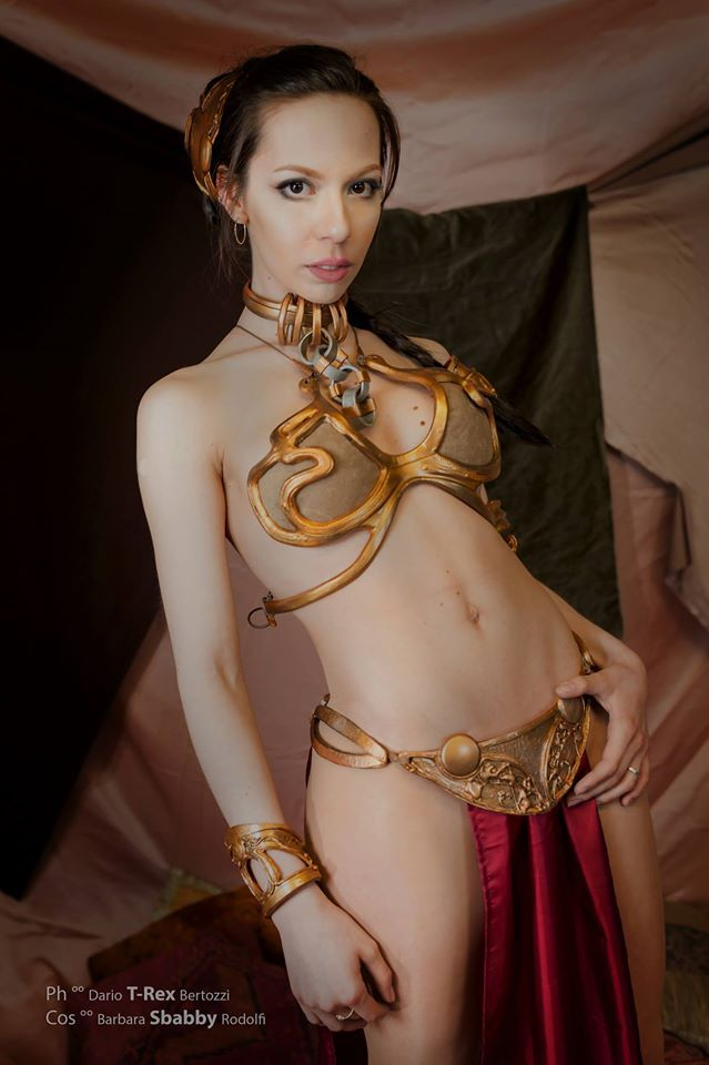 Accept. Princess leia slave naked Yes, the