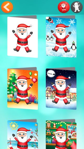 Make you own character then choose from EIGHT gorgeous Christmas Card designs to suit either a summer or winter Christmas, plus a blank card to show off your character! Tiny Christmas Card Maker is now available on the App Store- https://itunes.apple.com/au/app/tiny-christmas-card-maker/id927862917?mt=8