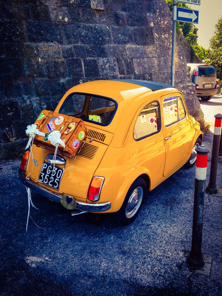 Fiat 500 — it's like sunshine in car form!