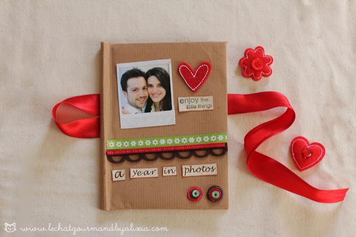 Come fare un porta foto decorato per San Valentino || tutorial idee fai da te + gioco fotografico | Alixia - le chat gourmand