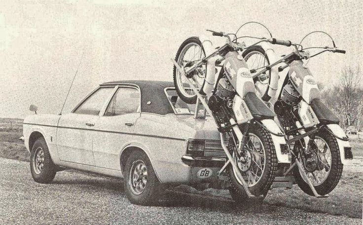 The most unusual way to transport motocross bikes we've ever seen.
