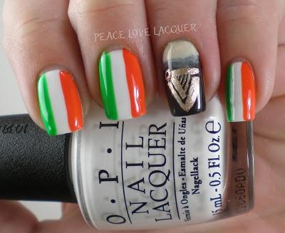 Luck of the Irish Nail Art Challenge - Guinness