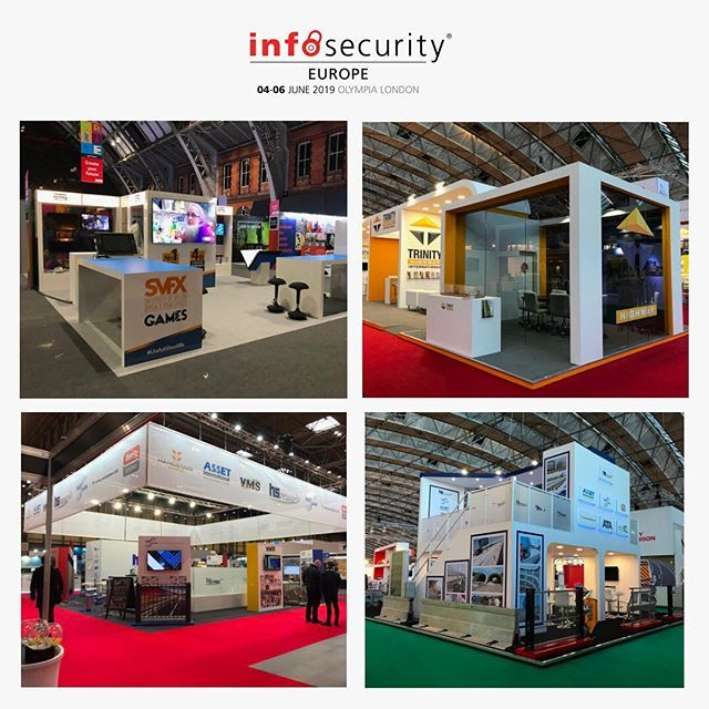Infosecurity Europe Is Fast Approaching Have You Organised Your Stand For June S Event Contact Us Today For Exhibition Stand Exhibition Design Olympia London