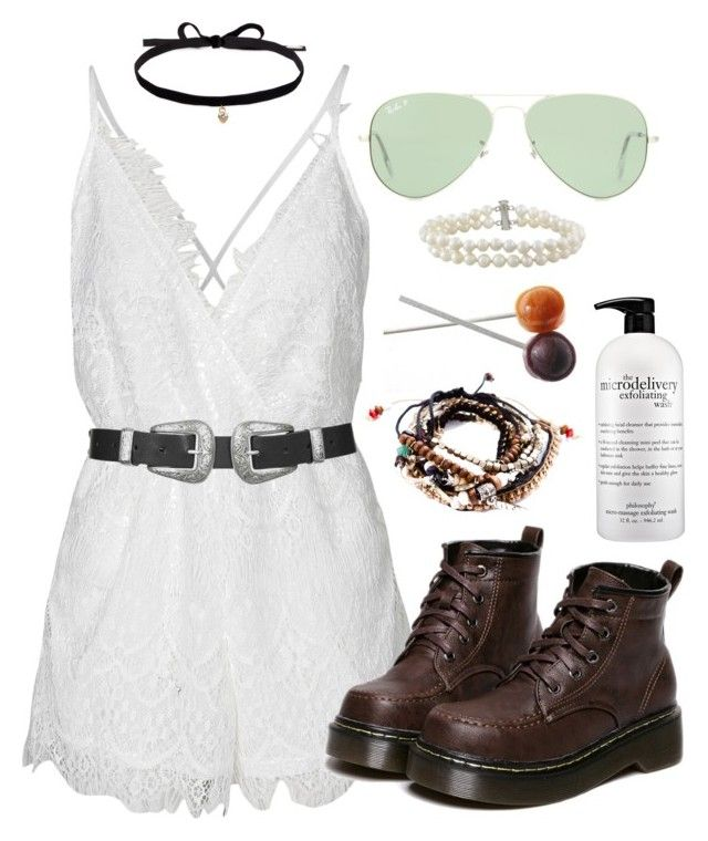 """""""We are here for all of us"""" by dancingincombatboots ❤ liked on Polyvore featuring Reverse, Joomi Lim, Topshop, Pull&Bear, Ray-Ban, WithChic and philosophy"""