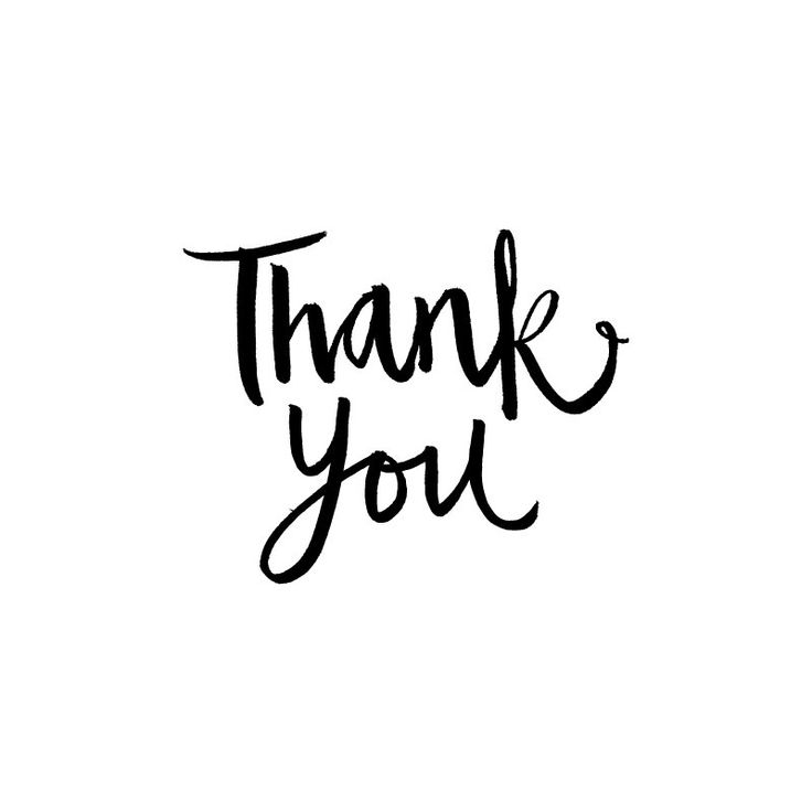 Calligraphy thank you rubber stamp by allieruth on etsy