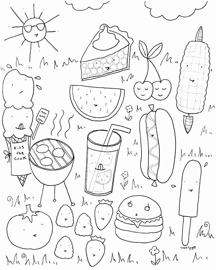 Summer Coloring Pages Pdf Lovely Printable Food Coloring Pages That Are Declarative Cool Coloring Pages Summer Coloring Sheets Spring Coloring Pages