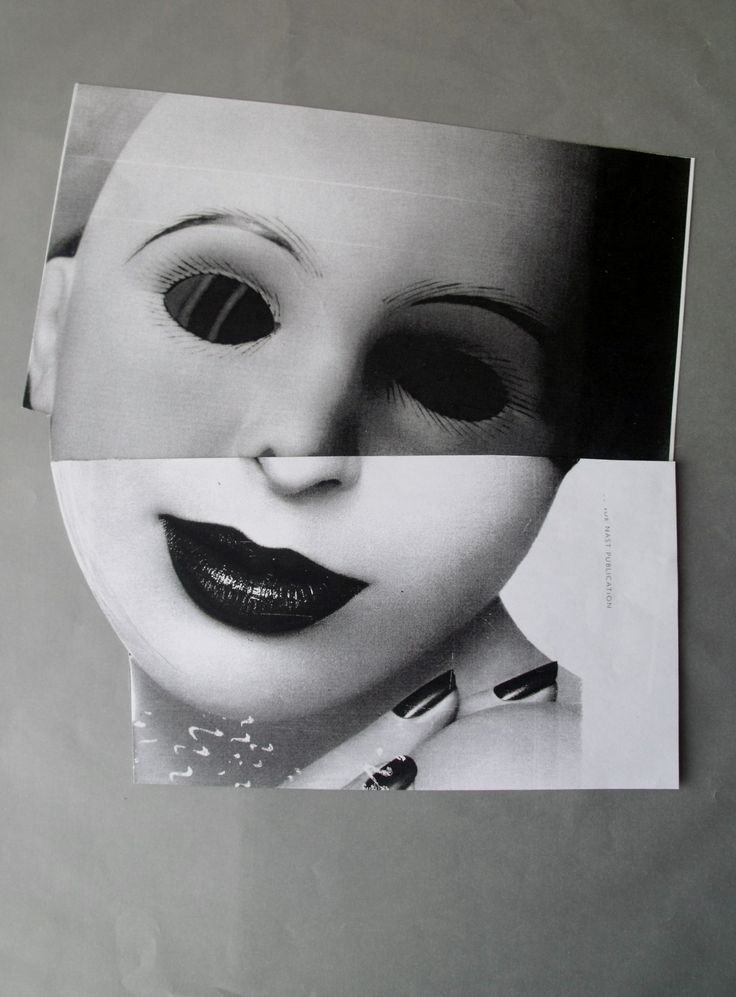 Collage from the Stitched Faces series