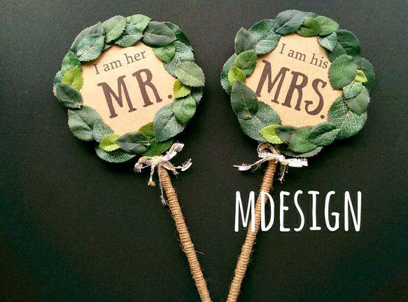 実際に、通販できる!インスタ、花嫁ブログで大人気のフォトプロップスストア作家さん大特集!! | BLESS【ブレス】|プレ花嫁の結婚式準備をもっと自由に、もっと楽しく