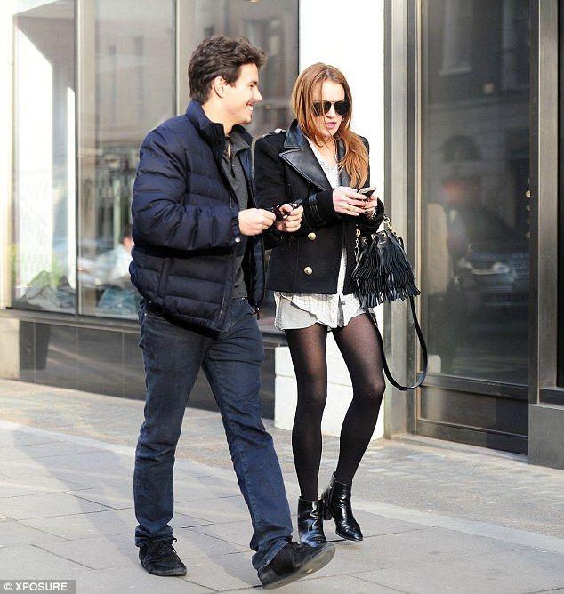 Cute couple:She recently found love with Russian beau Egor Tarabasov, and Lindsay Lohan s...