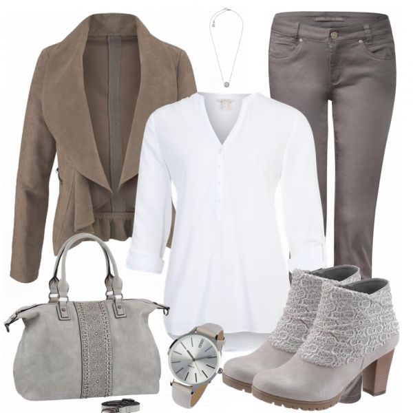 Winter-Outfits: Infinity bei FrauenOutfits.de