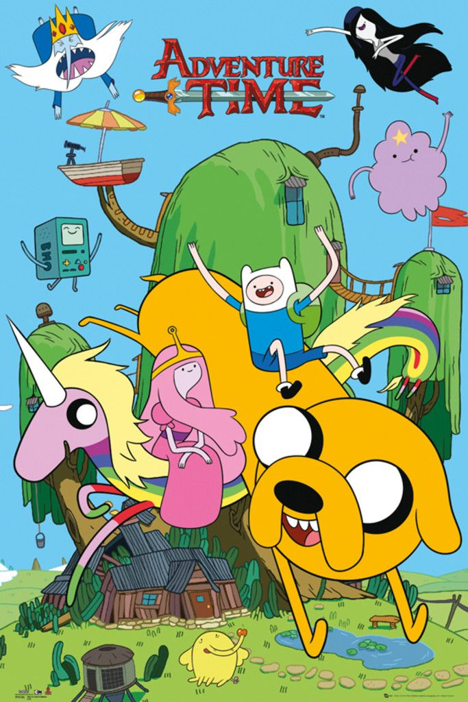 Adventure Time House - Official Poster