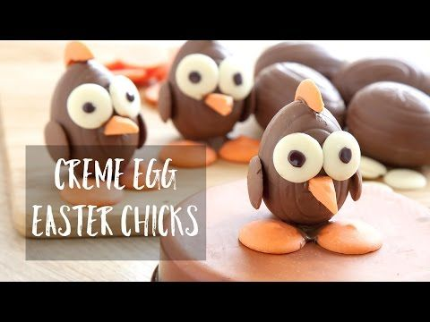 Crafty kid's chocolate Easter chicks - A Mummy Too