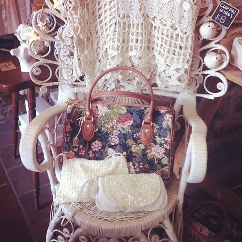 New shop chair! #wicker #peacock by @safade... — http://www.wickerparadise.com