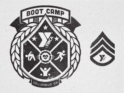 Like how they incorporate their brand identity into an established military badge