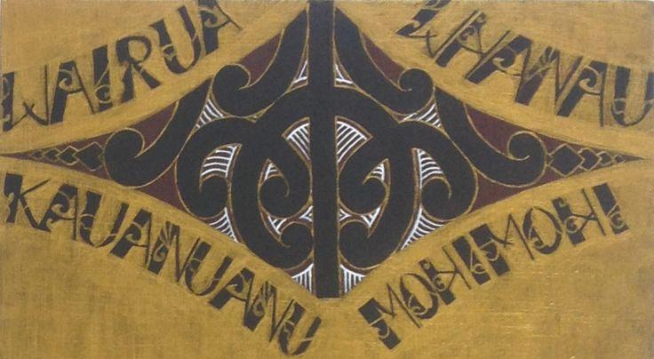 Final piece year 12 art maori design.
