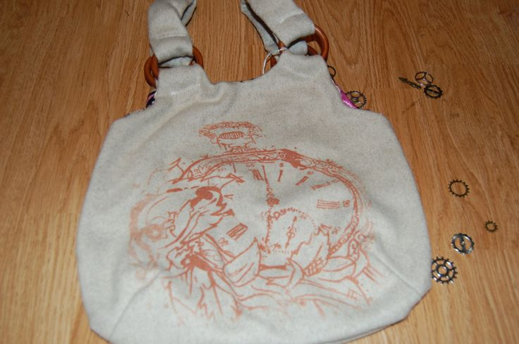 Screen printed bag by Houseofbecca on Etsy