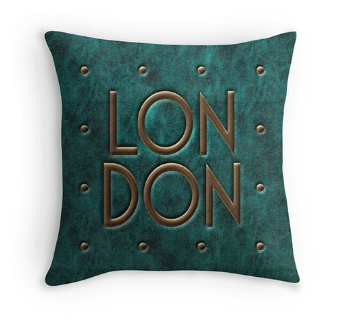 London, leather and metal