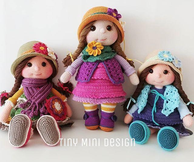 Amigurumi Tiny Doll [Free Crochet Pattern] | Amigurumi pattern ... | 534x640
