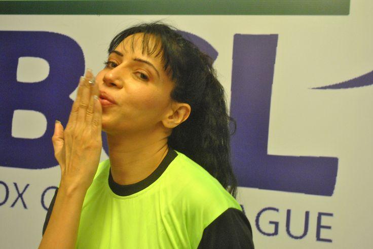 Rozlyn Khan at Box Cricket League BCL