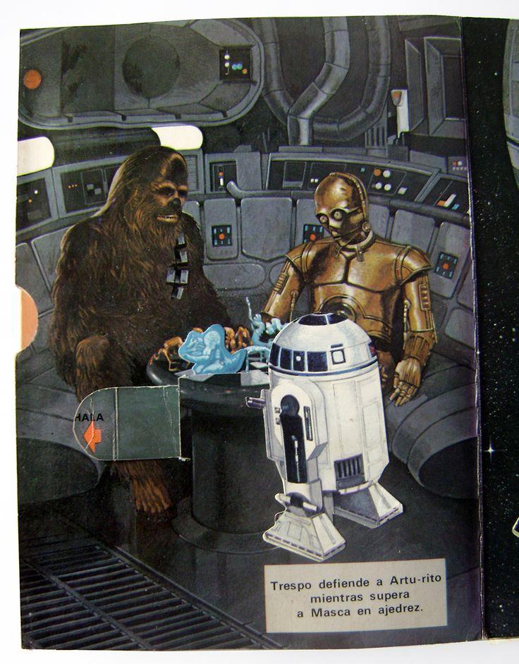 Star Wars Libro Pop Up Editorial Norma (1978)