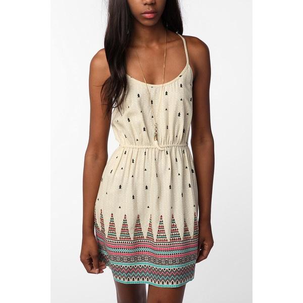 Ecote Peaks & Valleys Dress ($40) ❤ liked on Polyvore