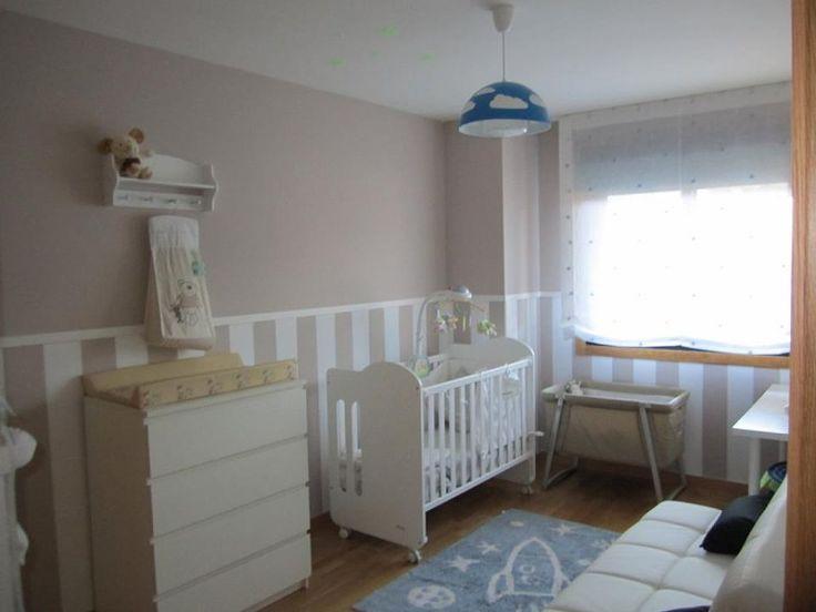 Decoracion habitacion bebe pintura - Decoracion cuarto bebe ...