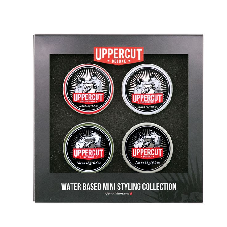 Uppercut Deluxe Water Based Pomade Styling Collection