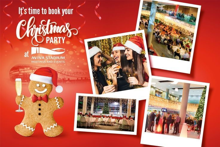Christmas Party 2016 | Aviva Stadium - A Unique and Unusual Venue for all Types…