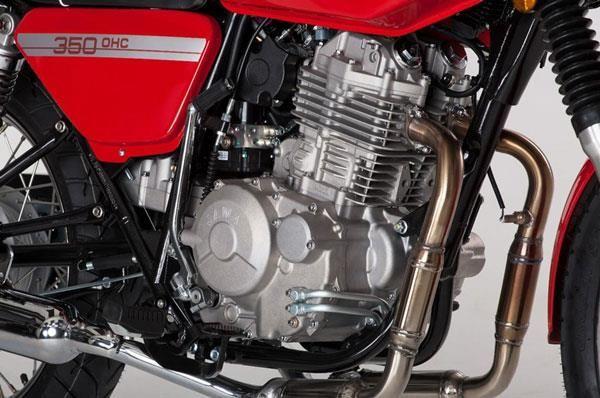 Jawa 660 Vintage Avtomobil Motocikl Vozrozhdenie