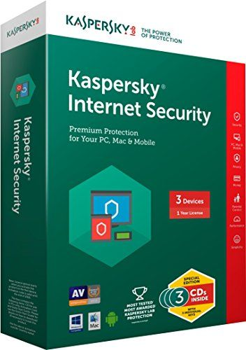 Kaspersky Internet Security Latest version - 3 Users   Software   Best news and deals!