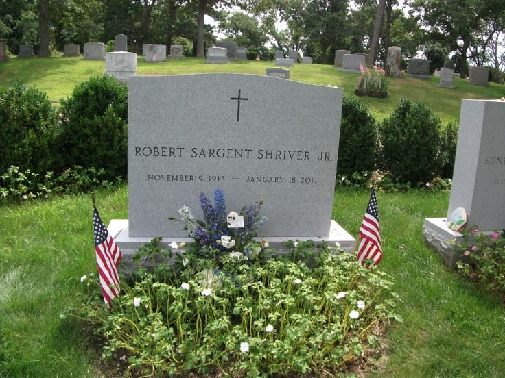 Sargent Shriver (1915 - 2011) First Director of the US Peace Corps, husband of Eunice Kennedy Shriver