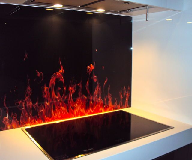 Fire Splashback