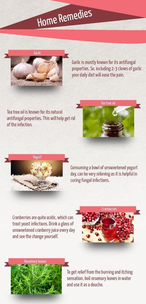 home remedies for yeast infection natural treatments