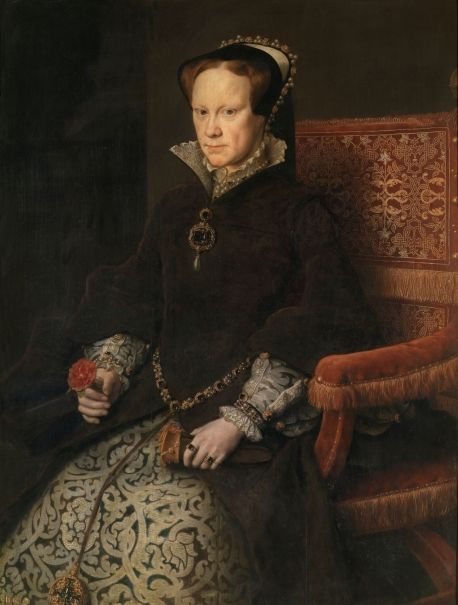 Mary Tudor, Queen of England, Second Wife of Philip II by Antonio Moro | Prado Museum, Madrid