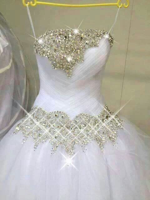46 curated bling oh yeah ideas by needleartslady glitter for Wedding dress bling detail
