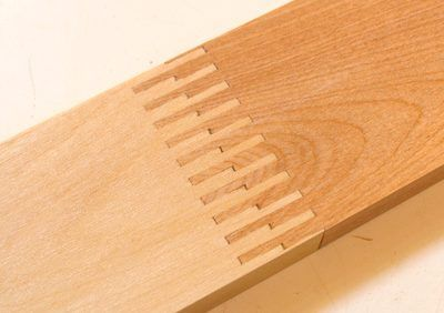 Various Finger Joints on Table Saw with Screw Jig http://woodgears.ca/box_joint/fingerjoint.html