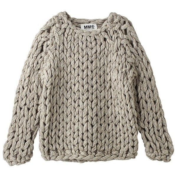 Chunky knit Chunky knit Crochet found on Polyvore featuring polyvore