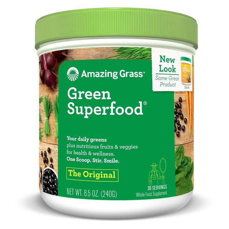 Amazing Grass Green Superfood Original 30-Serving Tub