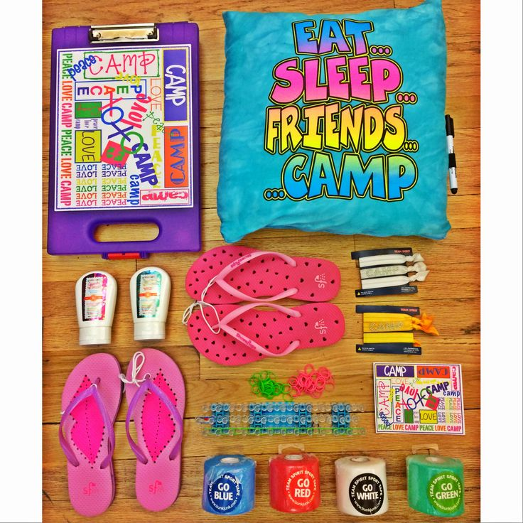 what to pack for sleepaway camp