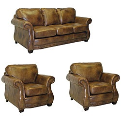 Sofa Pillows This furniture features premium Italian leather and a durable hardwood frame