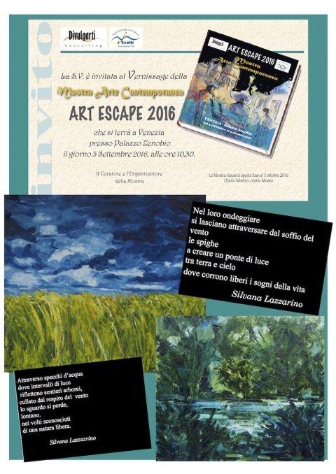 ART ESCAPE 2016 A VENEZIA