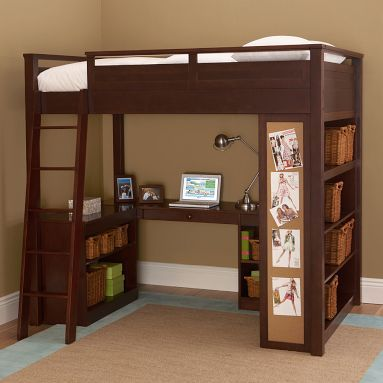 1000 images about loft beds on pinterest ladder ikea for Best beds for teenager