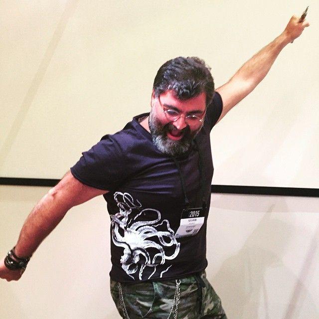Sevan Bicakci.  The master in Las Vegas! #celebratecouture