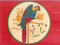 Arnott's biscuits mascot, delivery truck, MelbCBD Nov1983 7-32A