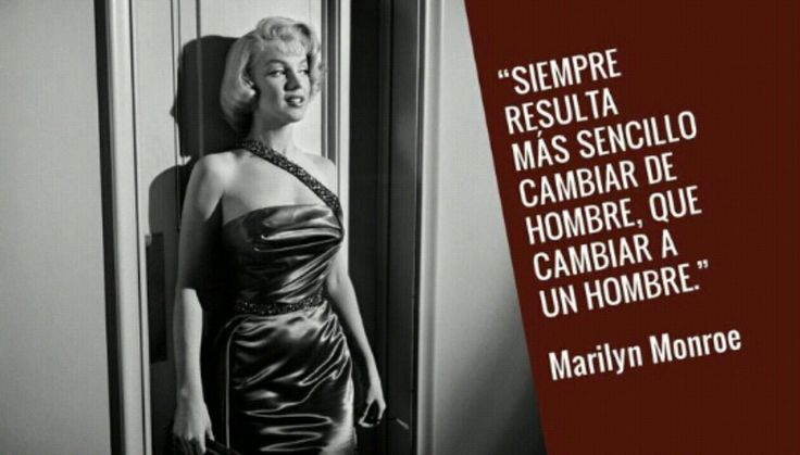 Marilyn Monroe Quotes In Spanish: 33 Best Images About Marilin Monroe On Pinterest