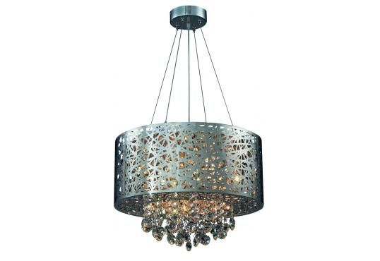 Legato krystall taklampe Nova Exclusive Krom | Lampehuset