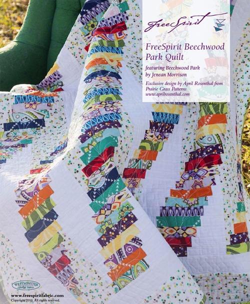 Free Beechwood Park Quilt Pattern