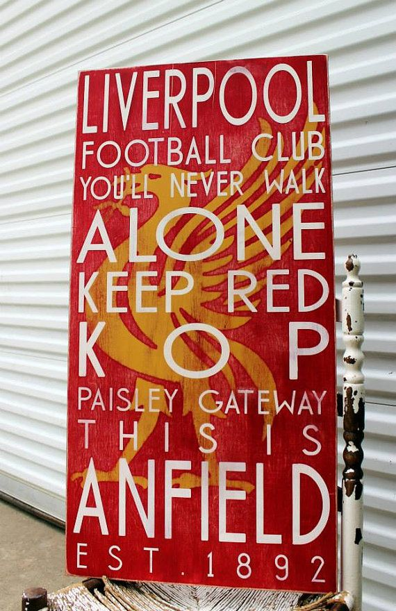 Nothing better if you are a Liverpool Football Club fan to have this unique item displayed in your man cave or your office. This piece was designed for the soccer fan in me. We can do other teams as well!